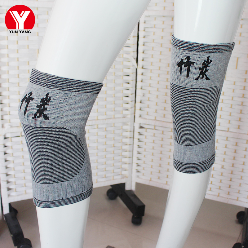 1 Pair Knee Protector Knee Pads Basketball Knee Support Sport Safety Guard Knee Brace Bandage Men Fitness Kneeling Support Pad