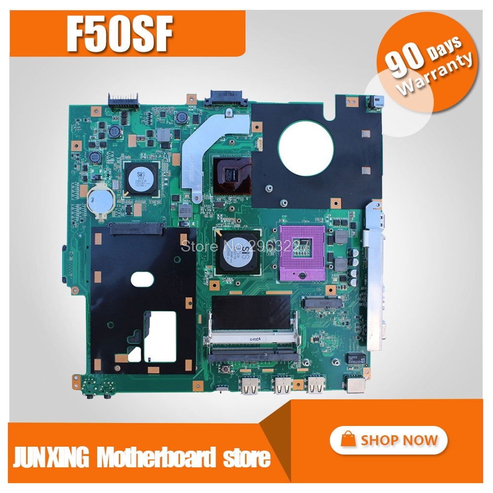 For Asus F50SF X61S F50SF laptop Motherboard PC original board 100 test mainboard mainboard