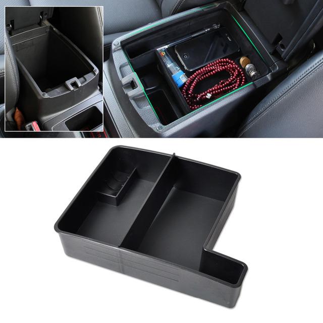 Plástico ABS de alta Qualidade Nova Caixa de Braço Carro Preto Secundário Caixa de armazenamento Para 2014 2015 Nissan Rogue X-Trail 2014 2015 2016 +