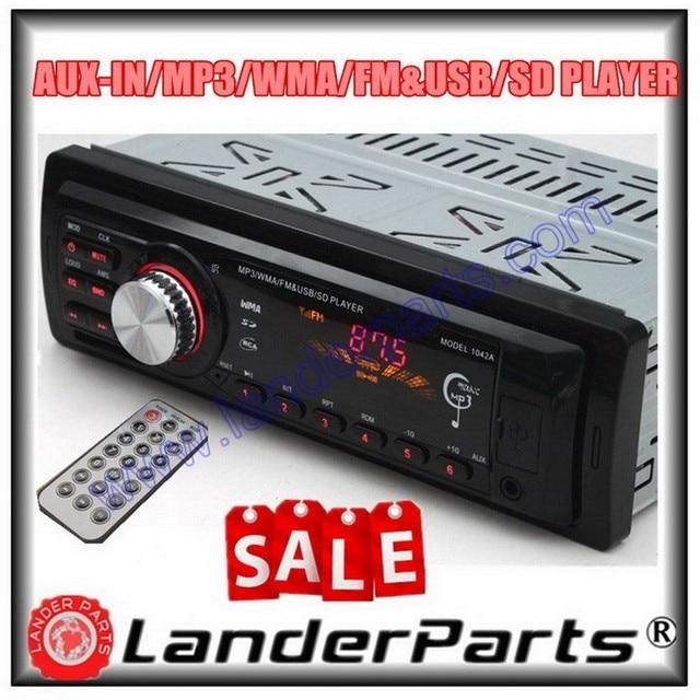 Auto Radio Player MP3 FM, USB, 1 Din, W/fernbedienung, usb anschluss ...