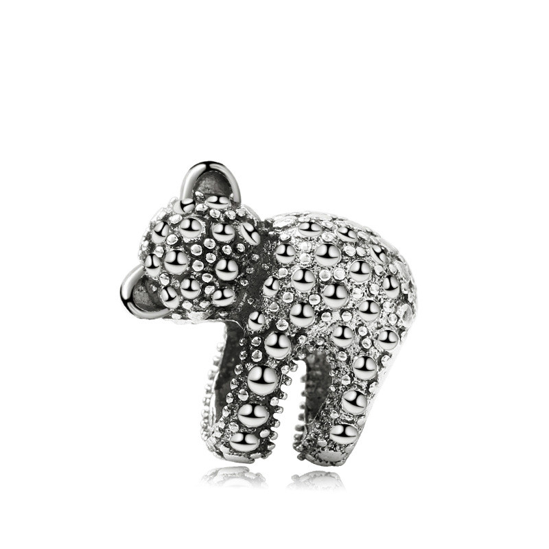 5PCS-New-Antique-Silver-Metal-Charms-Cute-Animal-Hug-Bear-Loose-Beads-Fit-DIY-Women-Bracelet