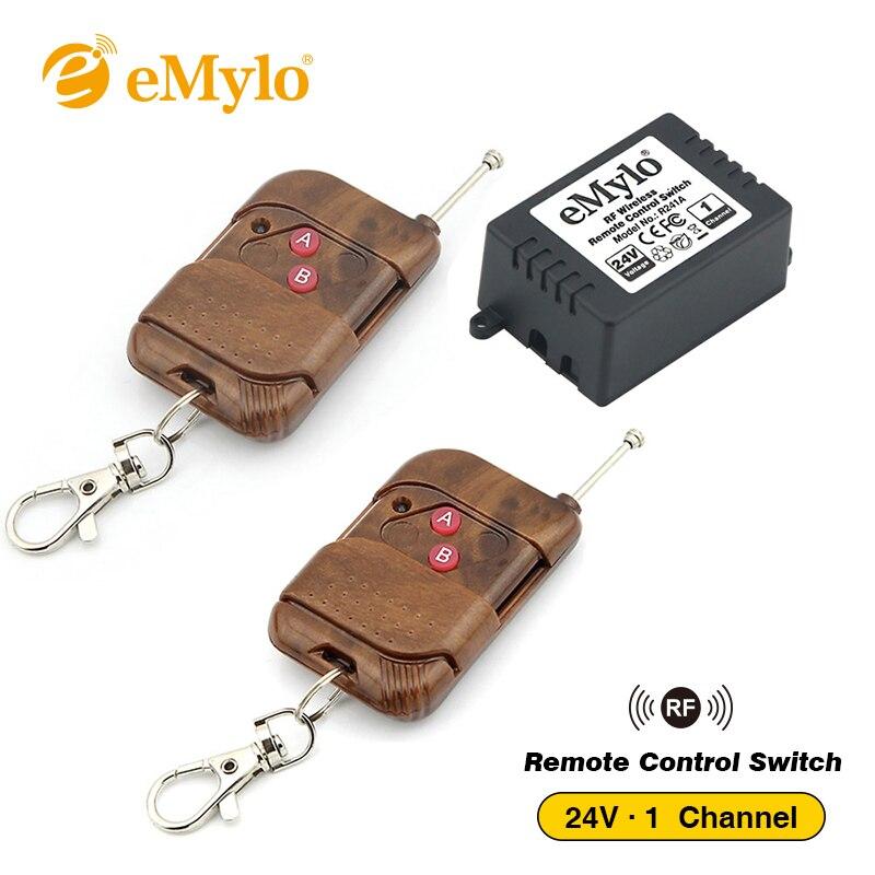 eMylo RF Remote Control 12V Relay Switch Wireless Switch 433Mhz One
