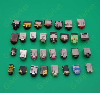 30models 300pcs Laptop Audio Interface Microphone Connector Audio Jack Socket For Acer Asus Lenovo HP Dell Toshiba Samsung Sony