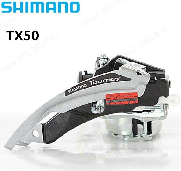 Shimano Tourney FD-TX50 Mountainbike Clamp-Auf Umwerfer 31,8mm/34,9mm