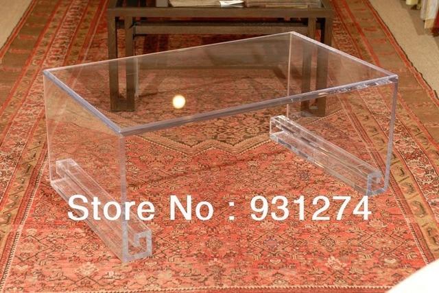 Transparente Acryl Lucite Couchtisch Plexiglas Wohnzimmer Mobel In