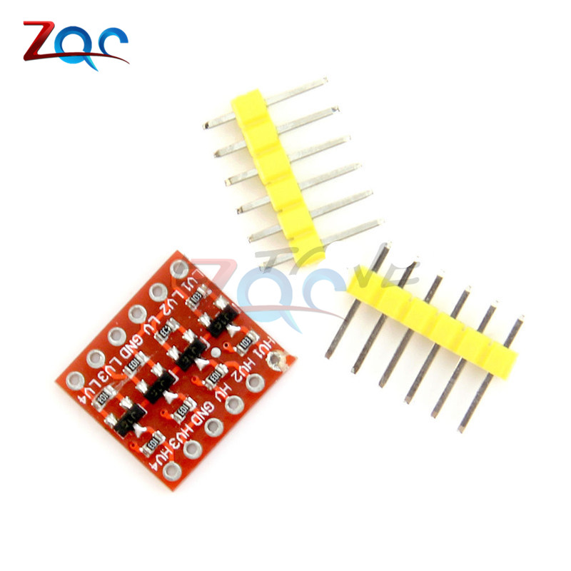 2 Stücke 4 Kanal Iic I2c Logic Level-converter Bidirektionale Modul 5 V Zu 3,3 V Für Arduino