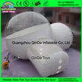 2016 Hot sale inflatable clear bubble tent, igloo inflatable clear tent for camping