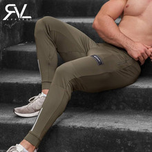 2019 New Gyms Mens Joggers Pants Fitness Casual Trousers Fashion Bodybuilding Brand Sweatpants Men Cotton