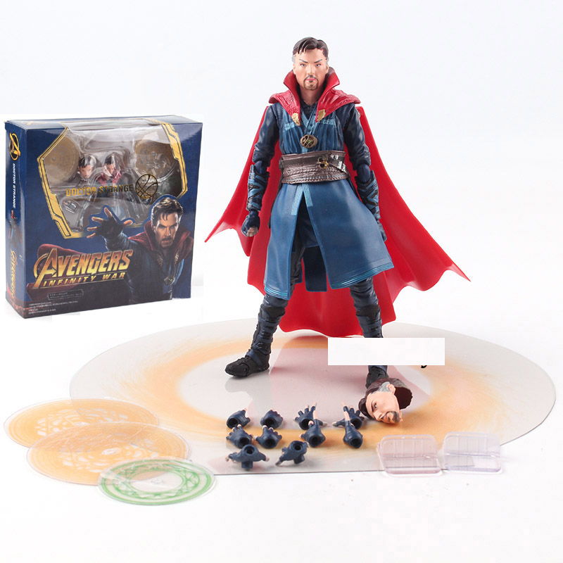 Doctor Strange Marvel Avengers Action Figure PVC Movable joints Toys New In Box