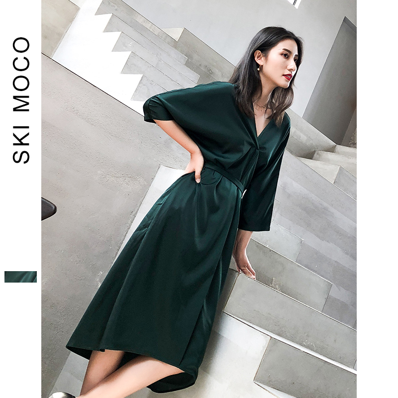 Sexy Summer Dresses Ladies new fashion elegant Pajama Dress for evening party maxi oversized with Belt