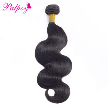 PALPOY Body Wave 1/3 Bundles Mongolian Human Hair Weave Bundles 8-26 Inch Natural Color Non Remy Hair Extensions Free Shipping(China)