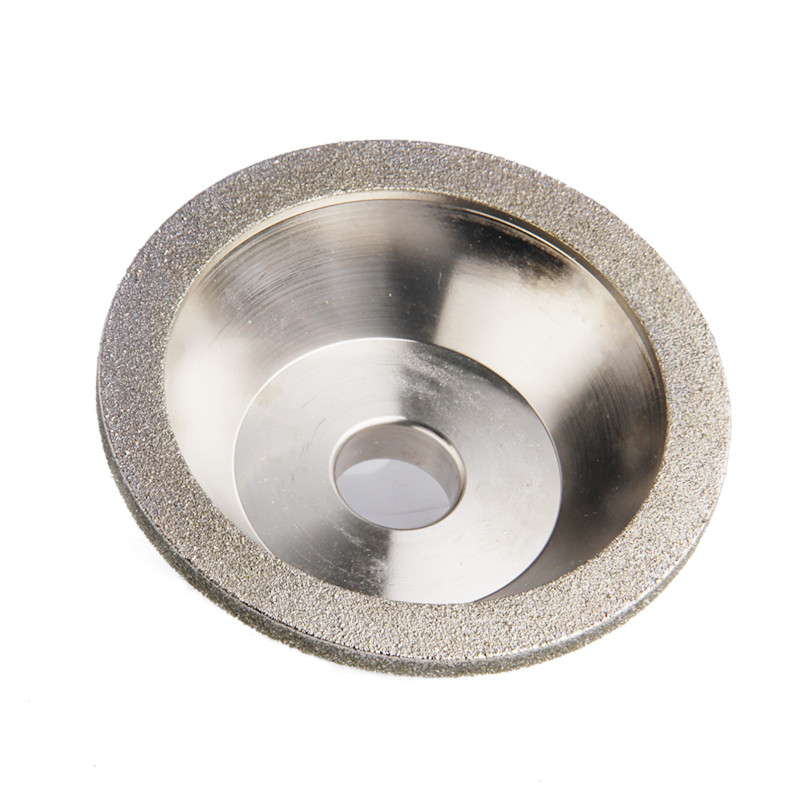 100*20mm Diamond Grinding Wheels 60/80/100/120/150/180/240/400 Grits Grinding Cup Diamond Wheels For Carbide Tool Abrasive Tool 150x32x10x8mm 150 180 240 320 400grit abrasive tools 75% contration 150mm outside diameter diamond grinding wheels