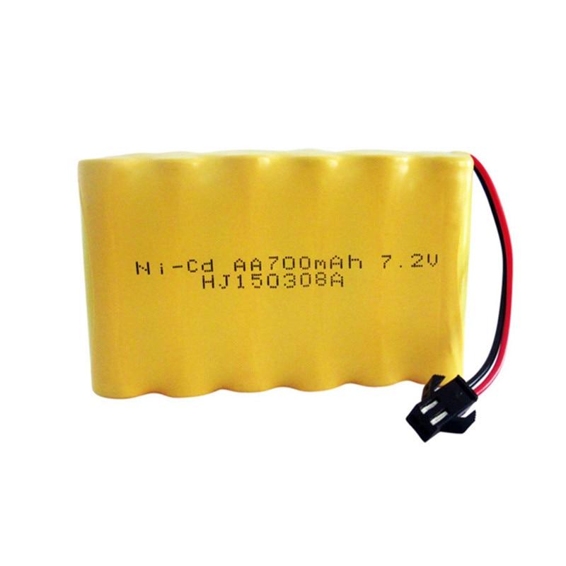 7 2v Battery 700mah Ni Cd 7 2v Aa Battery Nicd Batteries