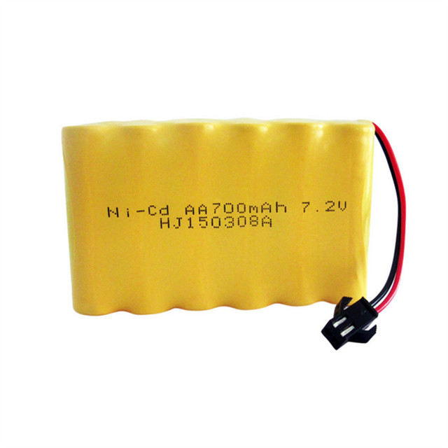 72v Battery 700mah Ni Cd Aa Nicd Batteries Pack Rechargeable For RC Boat Model Car Electric Toys Tank
