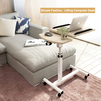 Removable Adjustable Portable Laptop Desk Stand Lap Sofa Bed Tray Computer Notebook Folding Table Home Office Furniture 64x40cm