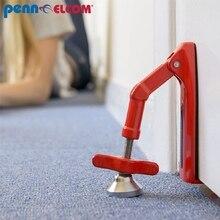 Self-denfense Doorjammer Doorlock Portable Hotel Travel Door Stop Anti-theft for Personal Women Security
