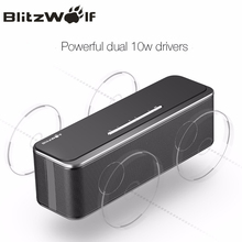 BlitzWolf Mini Wi-fi Bluetooth Speaker Moveable Stereo Bluetooth Speaker With Microphone 20W Cellular Cellphone Speaker For iPhone