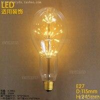 LED 2W 220V E27 Decor Retro Vintage Edison Bulb Lamp Light Industrial Ampoules Decoratives Incandescent Bulb