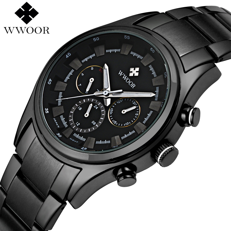 Men Watches Top Brand Date 24 Hours Clock Male Waterproof Military Sports Watch Men Luxury Quartz Watch Steel Strap Montre Homme men watches top brand wwoor date clock male waterproof quartz watch men silver steel mesh strap luxury casual sports wrist watch