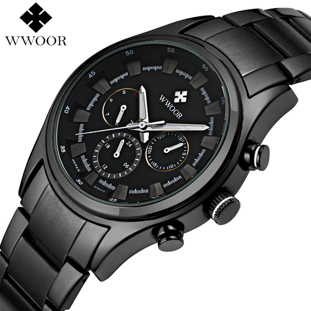 Men Watches Top Brand Date 24 Hours Clock Male Waterproof Military Sports Watch Men Luxury Quartz Watch Steel Strap Montre Homme