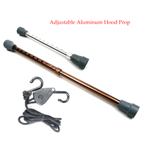 Adjustable Aluminum Hood Prop With Nylon Rope Paintless Dent Repair Accessory Tools