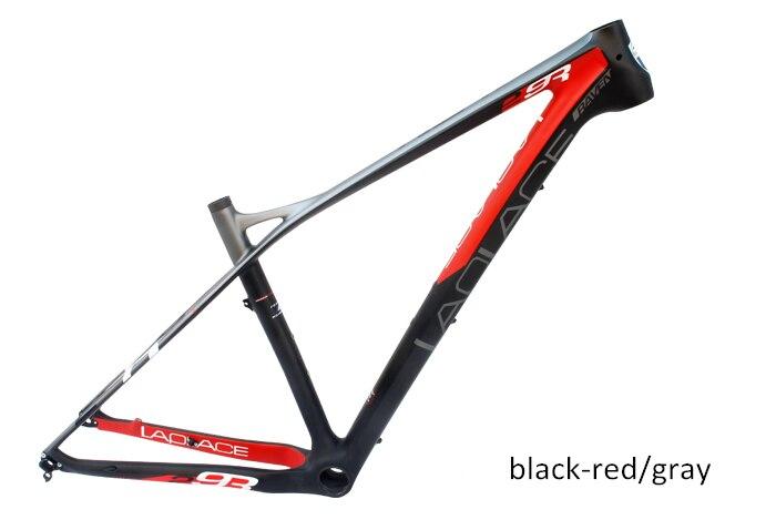 2016 Brand New Laplace 29er Carbon fiber mountain bicycle Frame, Super light Carbon MTB Frame