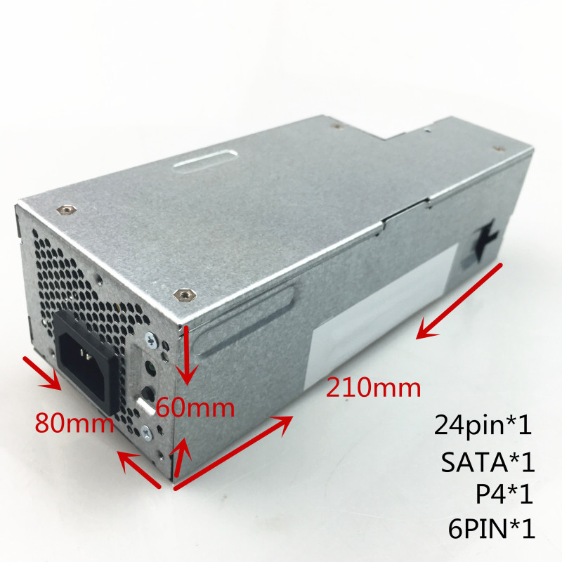 New SFF PSU Power Supply L235P-01 L235P-00 H235P-00 H235E-00 F235E-00 PW116 R224M Power Supply for Dell 580 760 780 960 980 SFF