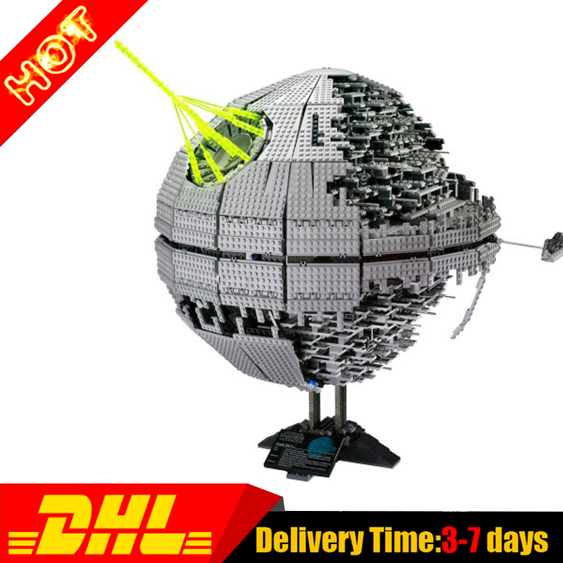 Modular LEPIN 05026 3449Pcs UCS UCS Death Star 2 II Model Building Kit Set Blocks Brick Compatible Toys 10143 earth 2 society vol 4 life after death