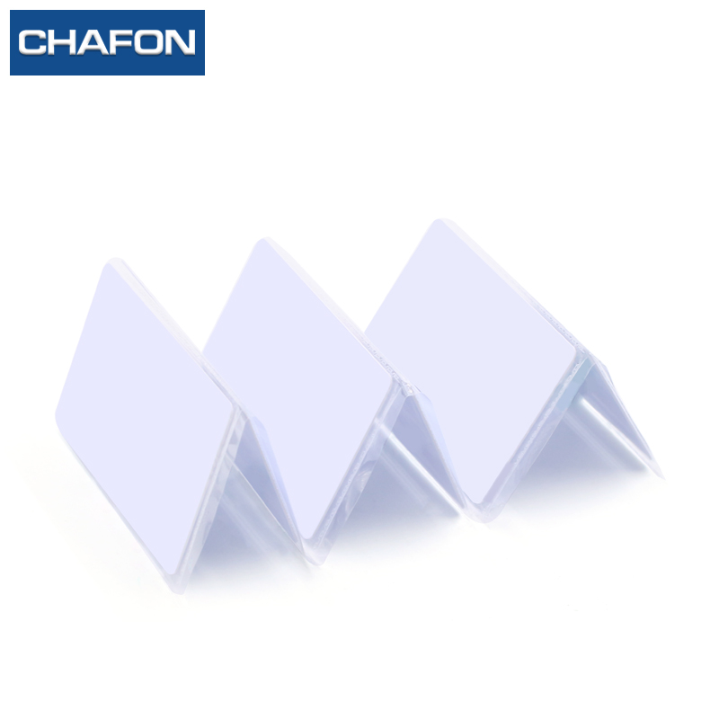 CHAFON PVC rfid card with TK4100 chip F08 chip Alien H3 chip(optional) for access control and parking system