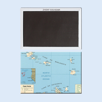 detailed-political-and-administrative-map-of-cape-verde Fridge Magnets 22182 map of croatia fridge stickers