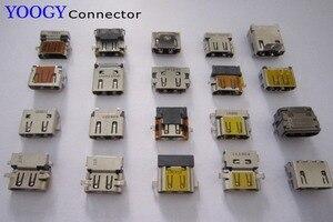 20 modelo/20 pces fêmea hdmi conector apto para hp, dell, lenovo, acer, asus computador portátil placa-mãe hdmi soquete