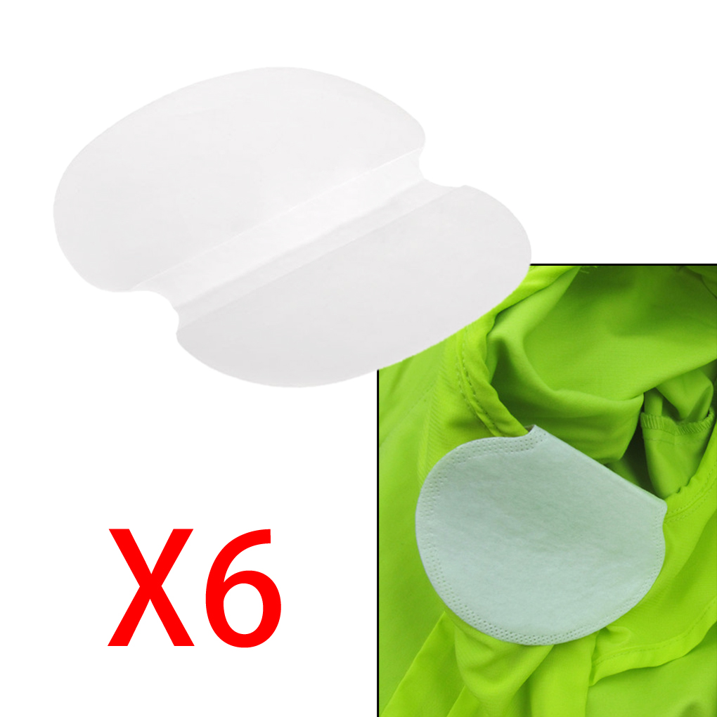 6Pcs/3pairs High Quality Sweat Underarm Absorbing Deodorant Armpit Pads