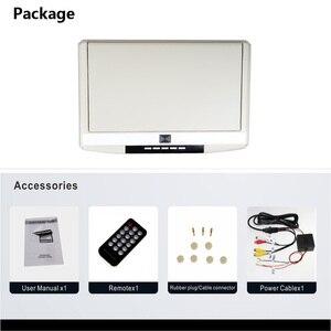 Image 5 - 15,6 Inch Decke Monitore FHD 1080P Flip Unten Montieren Monitor Led bildschirm MP5 Player Mit IR/FM Transmitter /USB/SD/HDMI/Lautsprecher