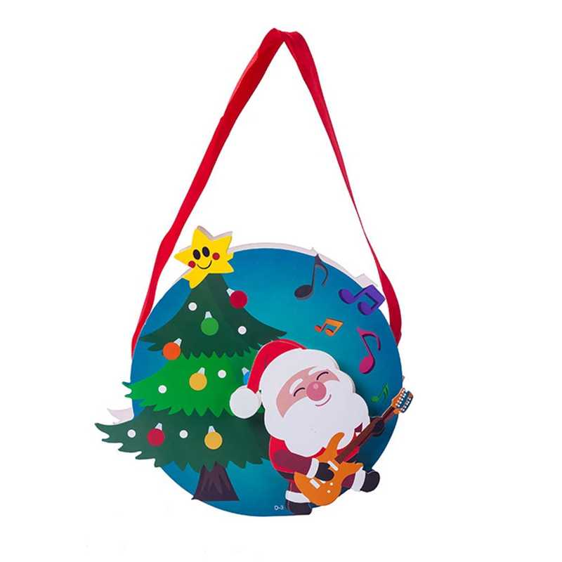 Presente de natal Feliz Natal Saco de Doces saco Lanche Pacote Infantil Doméstico Jardim Miúdo Home Decor de natal