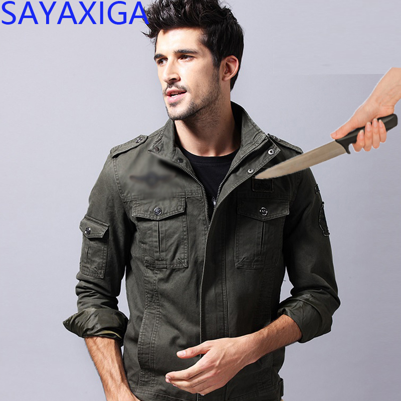Self Defense Tactical Jackets Anti Cut Anti-knife Cut Resistant Men Jacket Anti Stab Proof Clothing Security Soft Stab Clothing Back To Search Resultsmen's Clothing Jackets & Coats