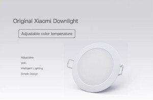 Image 2 - Xiaomi Mijia Smart Downlight Wifi Work with Mi home App Smart Remote control White & Warm LED adjustable intelligent Light