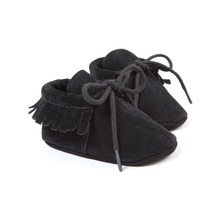 black nubuck baby boys sneakers shoes baby moccasins hot moccs superstar shoes baby newborn infantil bebe shoes 0~18month bx300