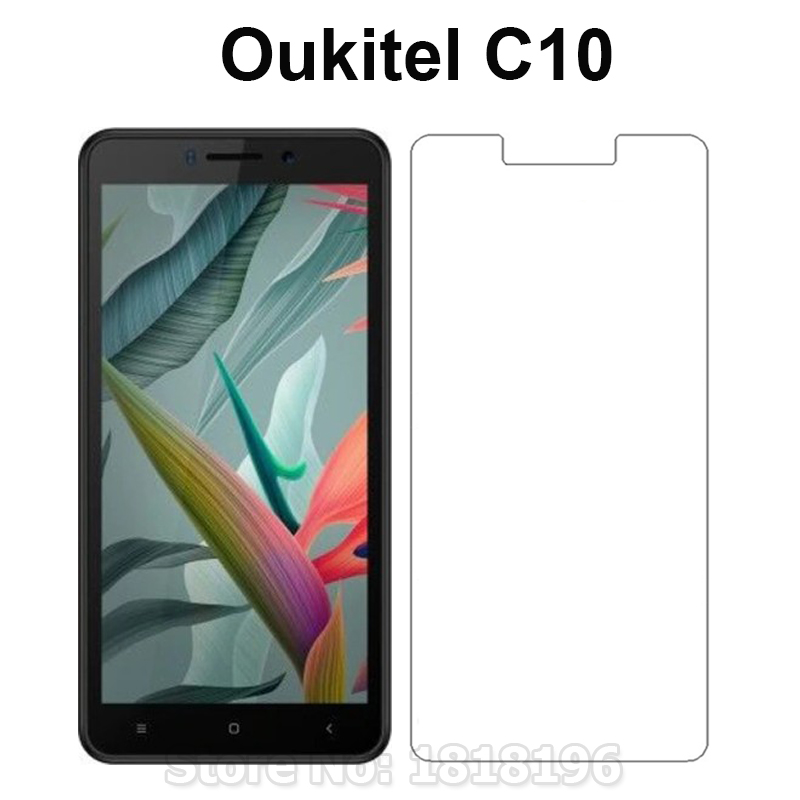 Oukitel C10 5.5 Tempered Glass For Oukitel C10 Screen Protector Explosion-proof LCD Front Phone Film For Oukitel C10 Case Glass