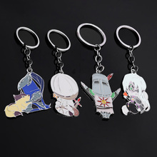 SG Hot 4 Style Dark Souls Figure Keychains Sun Sollar Fire Keeper Knight Keyring Men Kids Bloodborne Broche Choker Jewelry Gifts