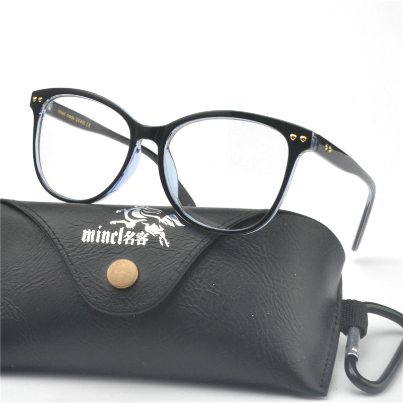 5bc634b208e Detail Feedback Questions about MINCL 2018 Optical Eyeglass Frame Men Clear  Lens Glasses High Quality Women Square Black Male Frames New NX on ...