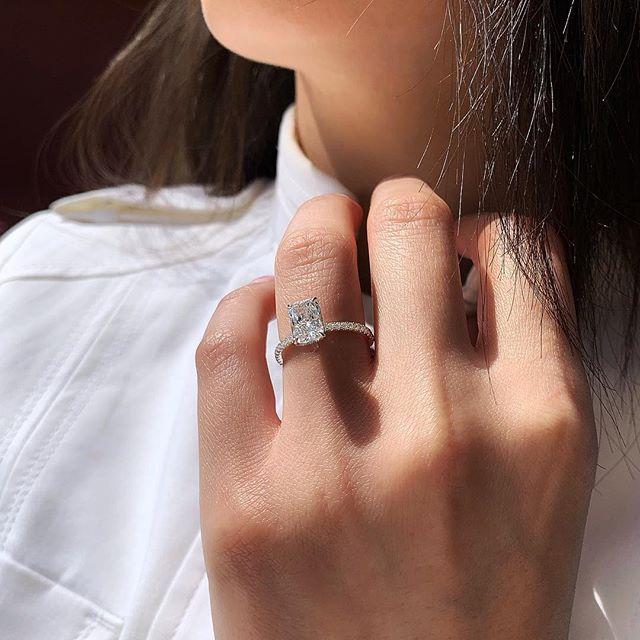 Huitan Cubic Zircon Wedding Ring Band For Female Classic Simple Stylish Bridal Ring Bands Wholesale Lots&Bulk Dropshipping(China)