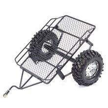 Старый непослушный мальчик моделирование альпинист 1/10 D90 SCX10 CC01 DIY Металлические Прицепы ведро соответствует 1.9 Металл колеса 90 мм шины