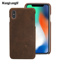 Genuine Leather For Iphone 7 8 Case Ocodile Skin Mobile Phone Case For IPhoneX Back Cover Protective Case Genuine LeatherQ
