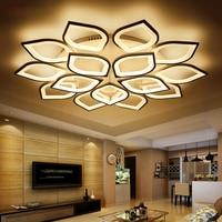 Acrylic Modern Led ceiling Chandelier lights For Living Room Bedroom