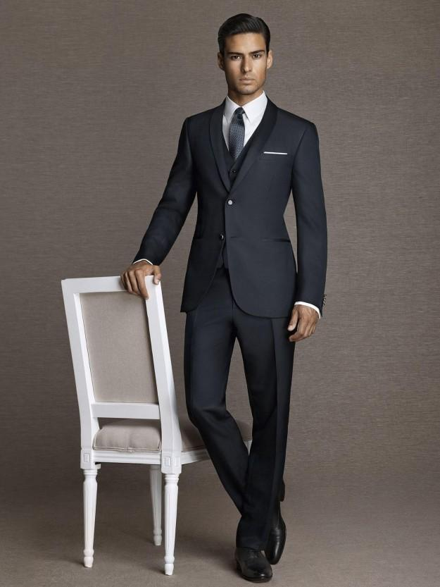 Aliexpress.com : Buy Grooms Tuxedos Notched Lapel Best Mens Suits