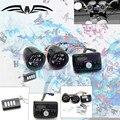 Buena calidad Motocicleta Reproductor de MP3 Altavoces Reproductor de MP3 sistema de sonido Amplificador de Sonido de Alarma de moto de color negro