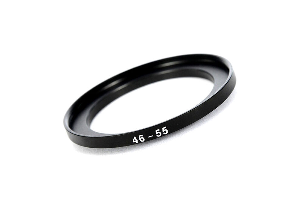 46mm-55mm 46-55 mm 46 to 55 Step Up Filter Ring Adapter