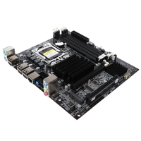 X58 Desktop Motherboard Lga 1366 4 Channels Ddr3 32Gb Ram M Sata Mainboard For Intel E5520/L5520 X5650 Core I7