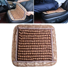 Natural Wood Wooden Beaded Car Seat Auto Cover Massage Cool Cushion China