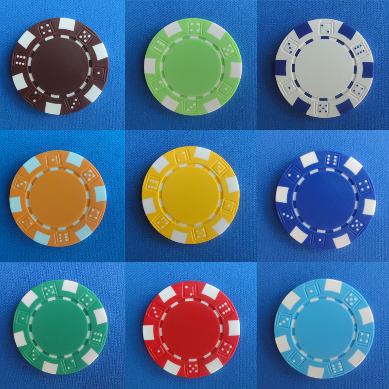 100pcs Blank Poker Chips 11 5g Iron ABS Casino Chips Texas Hold em Poker Wholesale Wheat